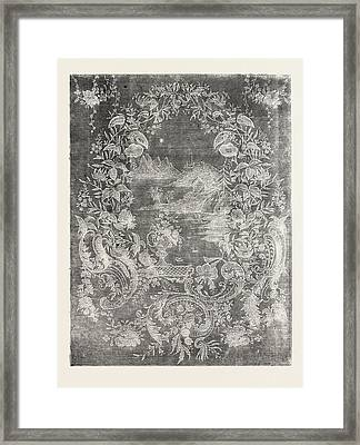 Muslin Curtain Framed Print by Swiss School