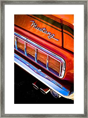 Mustang Mach 1 Framed Print by Phil 'motography' Clark