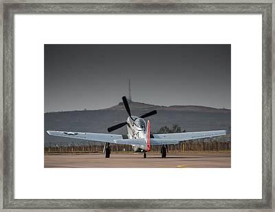 Mustang Power Framed Print by Paul Job