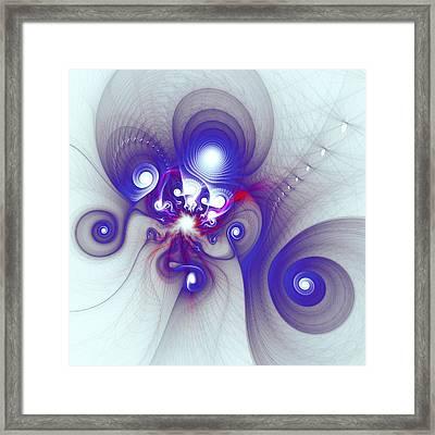 Mutant Octopus Framed Print by Anastasiya Malakhova