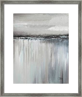 Muted Paysage I Framed Print by Patricia Pinto