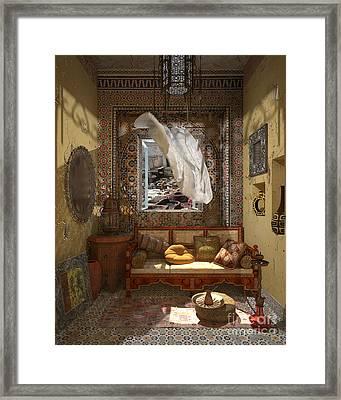 My Art In The Interior Decoration - Morocco - Elena Yakubovich Framed Print by Elena Yakubovich
