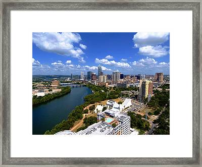 My Austin II Without Borders Framed Print by James Granberry