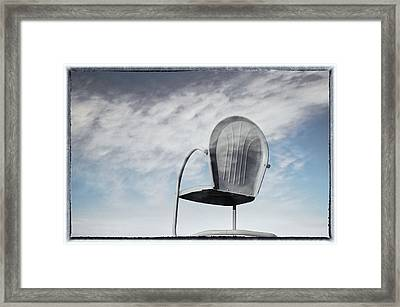 A Dream Of Flying Framed Print by Mary Lee Dereske