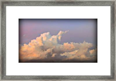 My Beautiful Clouds Framed Print by Henry Adams