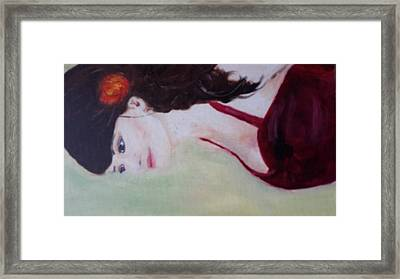 My Beautiful Daughter Framed Print by Odette Frank