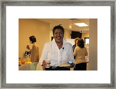 My Beautiful Friend Framed Print by Carolyn Ricks