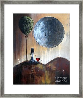My Bff By Shawna Erback Framed Print by Shawna Erback