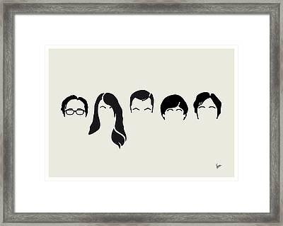 My-big-bang-hair-theory Framed Print by Chungkong Art