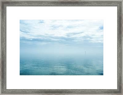 My Blue Heaven  Framed Print by Paula OMalley