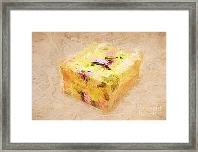My Box Of Secrets Framed Print by Andee Design