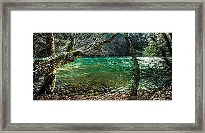 My Brother's River Framed Print by Karen Wiles
