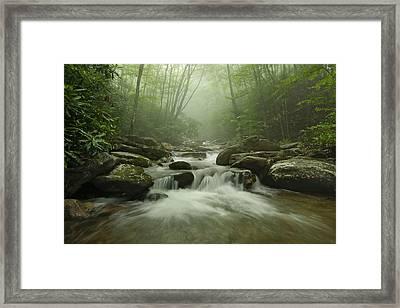 My Carolina Mountain Dream Framed Print by Keith Clontz