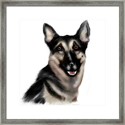My Childhood Friend Framed Print by Shanna Hare