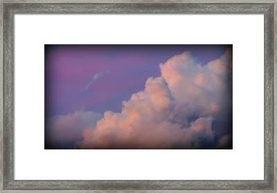 My Clouds Framed Print by Henry Adams