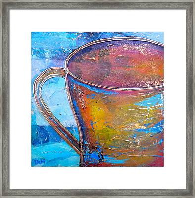 My Cup Of Tea Framed Print by Debi Starr