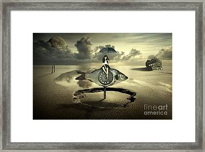 My Dear Fish Framed Print by Franziskus Pfleghart