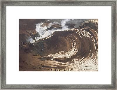 My Destiny Framed Print by Victor Hugo