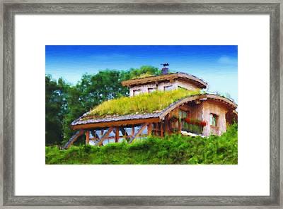My Dream House Framed Print by Gabriel Mackievicz Telles
