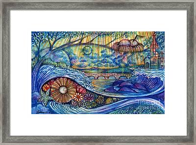 My Dream In The Morning Framed Print by Praphavit Premtha