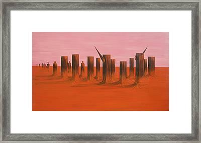 My Dreamtime 3 Framed Print by Tim Mullaney