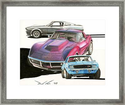 My Favorite Three Framed Print by Paul Kim