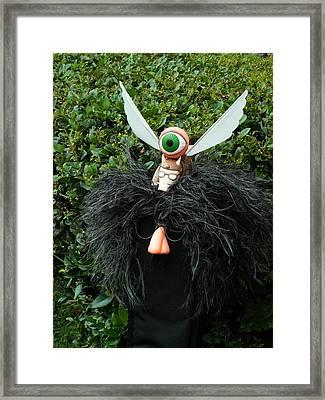 ...my Flying Pig Friend... Framed Print by Charles Struse Sr