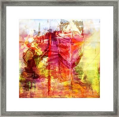 My Heart Belongs To You Ocean Framed Print by PainterArtist FIN