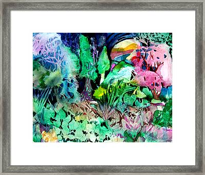 My Hearts Delight Framed Print by Mindy Newman