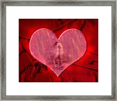 My Heart's Desire 2 Framed Print by Kurt Van Wagner