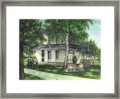 My Home Framed Print by Todd Spaur