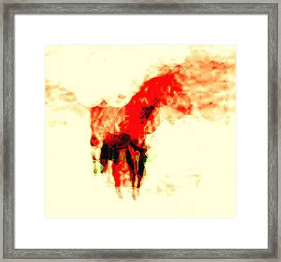 My Horse Your Horse Framed Print by Terry Matysak