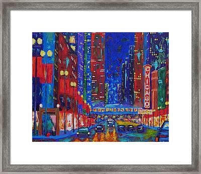 My Kind Of Town Framed Print by J Loren Reedy