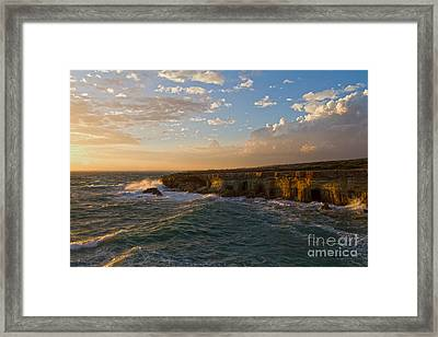 My Land Is The Sea Framed Print by Stelios Kleanthous