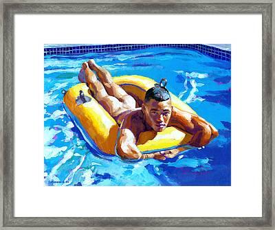 My Little Boat Framed Print by Douglas Simonson