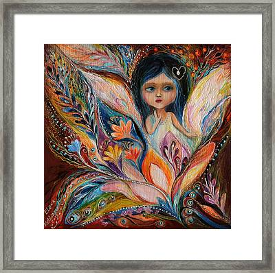 My Little Fairy Francine Framed Print by Elena Kotliarker