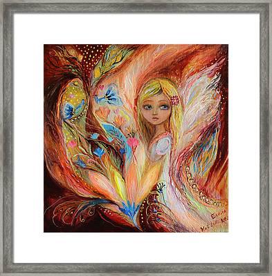 My Little Fairy Sandy Framed Print by Elena Kotliarker