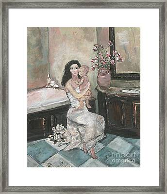 My Little Soul Framed Print by Helena Bebirian