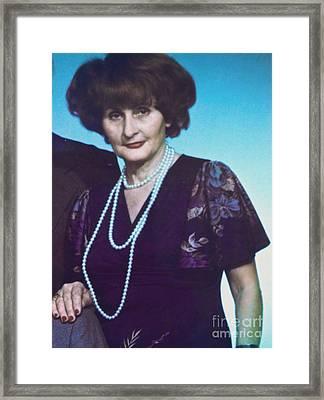 My Mother. Framed Print by  Andrzej Goszcz