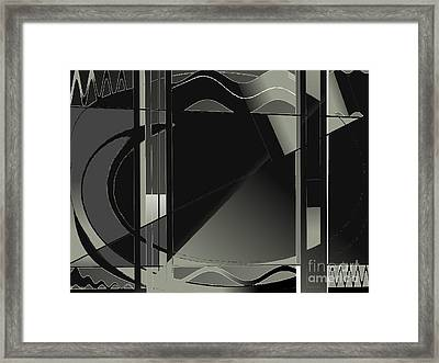 My Neighbors Friends And Family Care About Me Framed Print by Contemporary Luxury Fine Art