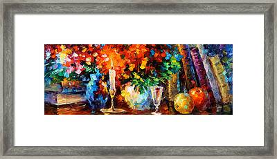 My Old Thoughts Framed Print by Leonid Afremov