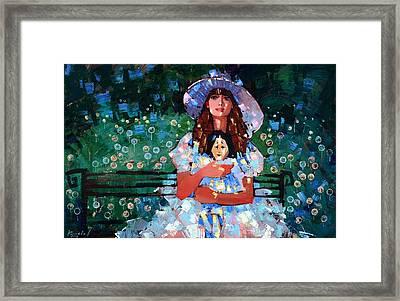 My Pierrot Framed Print by Anastasija Kraineva