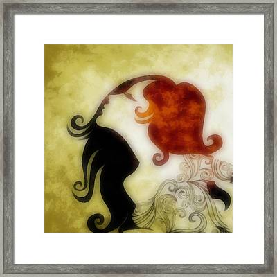 My Prince Will Come For Me 1 Framed Print by Angelina Vick