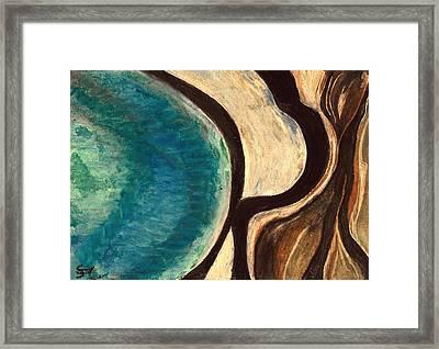 My Seascape I Framed Print by Carla Sa Fernandes