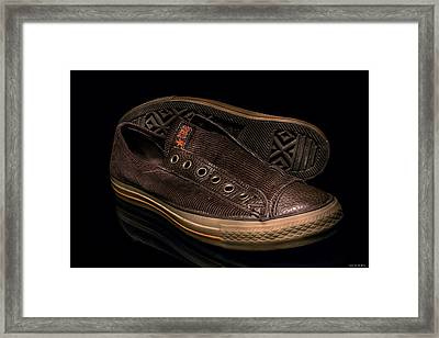 My Shoes... Framed Print by Erik Lunacek