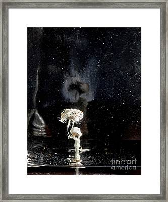 My Soul On Stage Framed Print by Petros Yiannakas