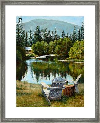 My Space Framed Print by Mary Giacomini