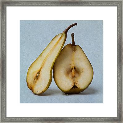 My Sweet And Perfect Half - Square 3 Framed Print by Alexander Senin