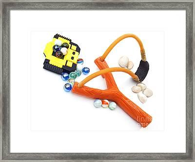 My Toys Framed Print by Sinisa Botas