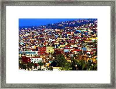 My Valparaiso Framed Print by Kurt Van Wagner